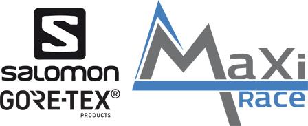 Logo de la Salomon Gore-Tex Maxi-Race